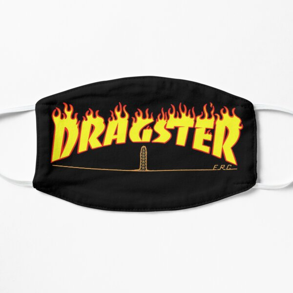 Dragster Flame Text ERC Mask