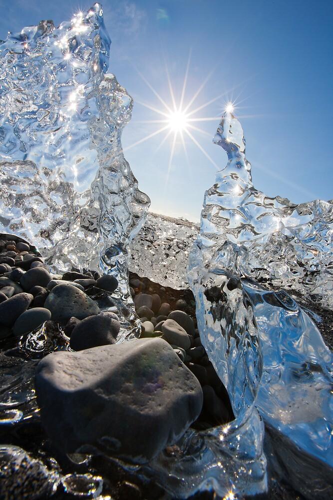 jourgensen lagoon iceland iceberg by Heather Buckley