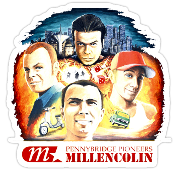 Quot Millencolin Pennybridge Pioneers Album Cover T Shirt