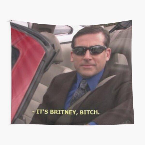It's Britney Bitch Tapestry