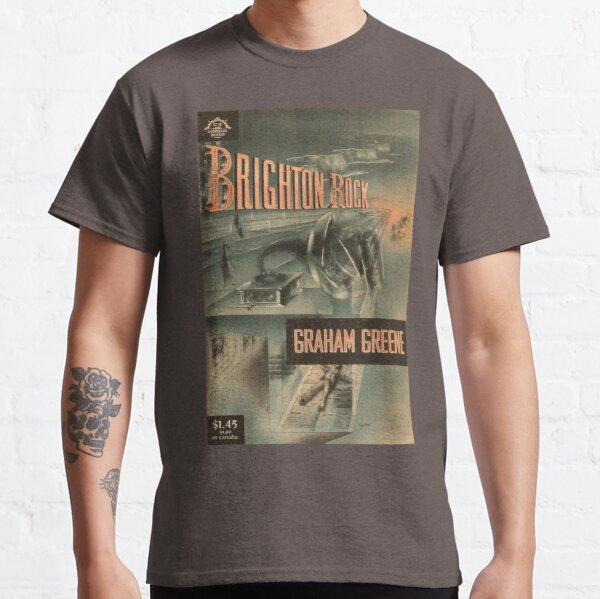 Brighton Rock by Graham Greene - vintage book cover Classic T-Shirt