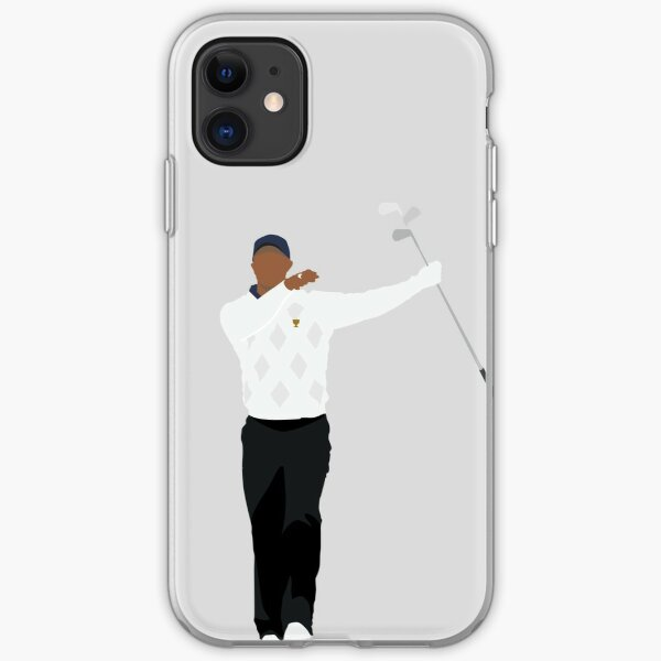 PRESIDENTS CUP CLUB TWIRL | TIGER WOODS GOLFER iPhone Soft Case