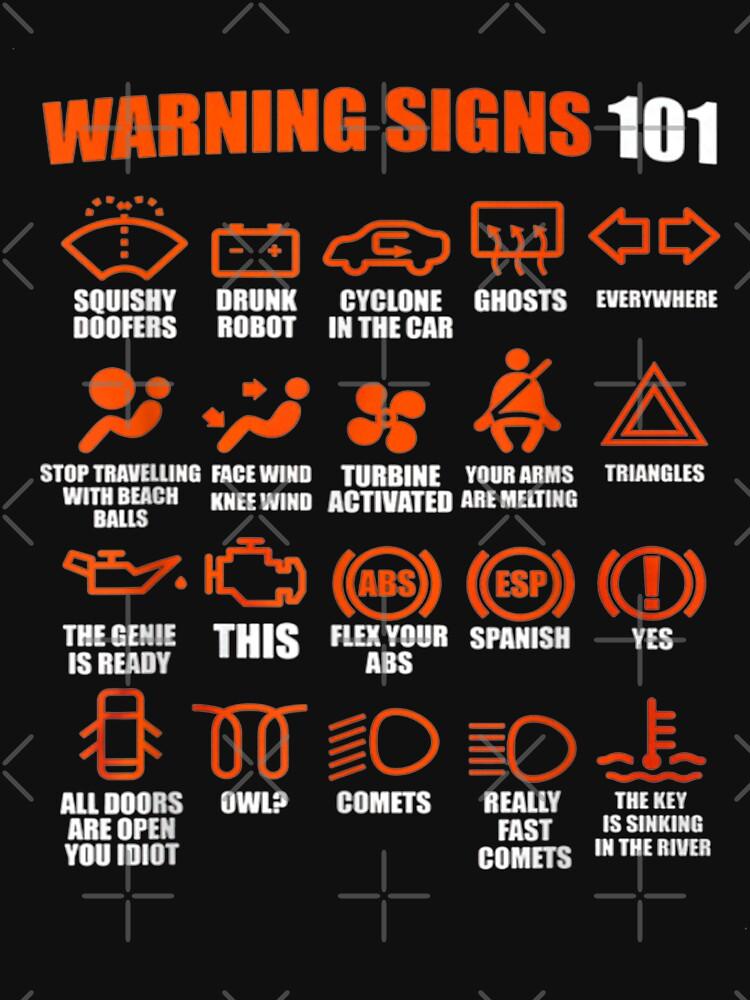 Warning Signs 101 Funny Sense of humor by KimChangi