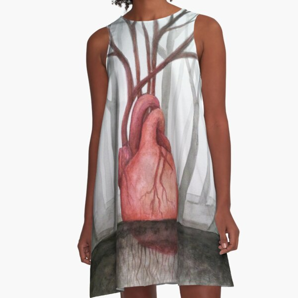 Heart of the Forest A-Line Dress