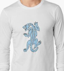 Tiger Strikes Blue  T-Shirt