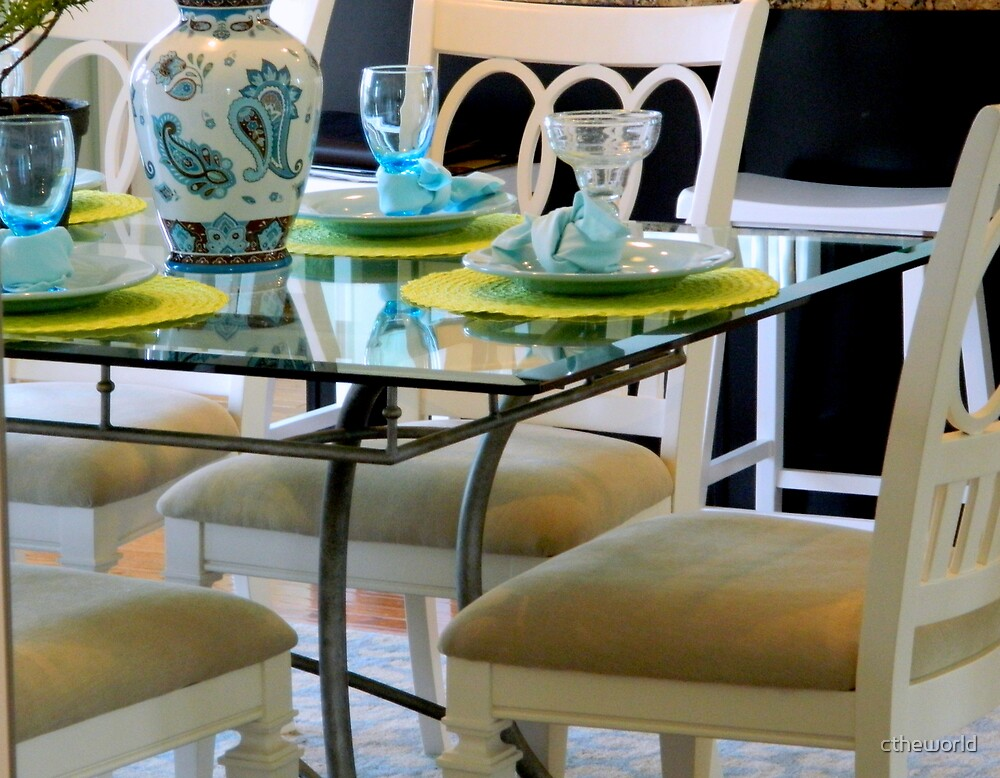 Table & Chairs   ^ by ctheworld