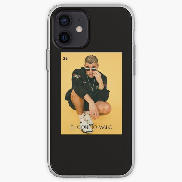 Bad Bunny Lotería Funda blanda para iPhone