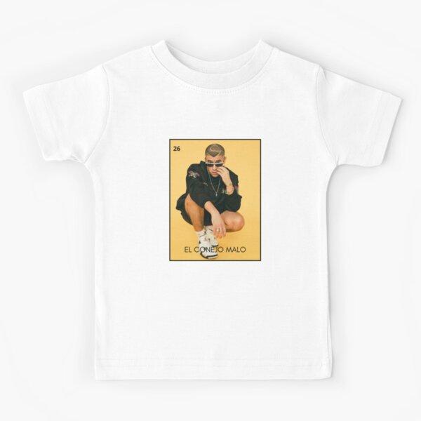 Bad Bunny Lotería Camiseta para niños
