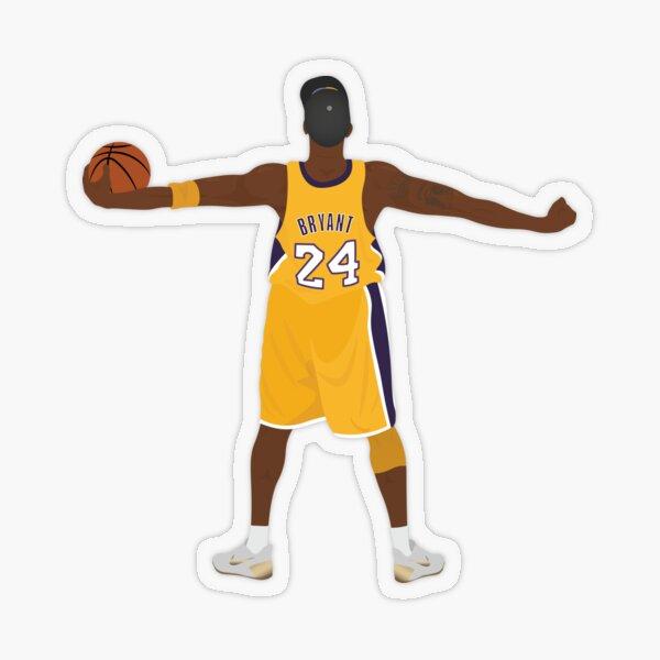 Kobe Bryant Transparent Sticker