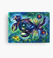 Crablike Creature Canvas Print