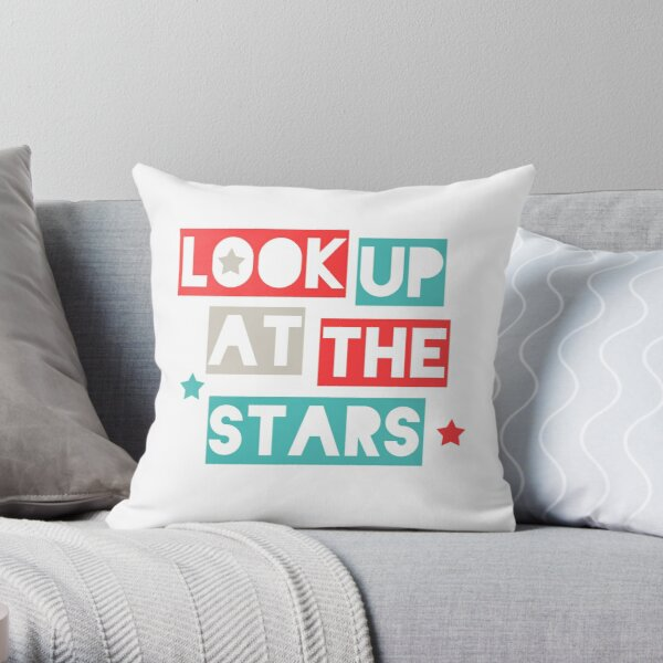 Look Up At The Stars Throw Pillow