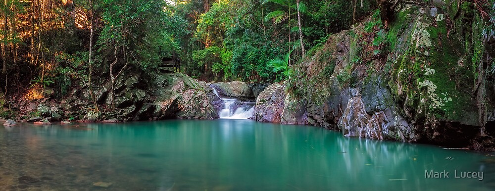 Cougals' Cascade by Mark  Lucey