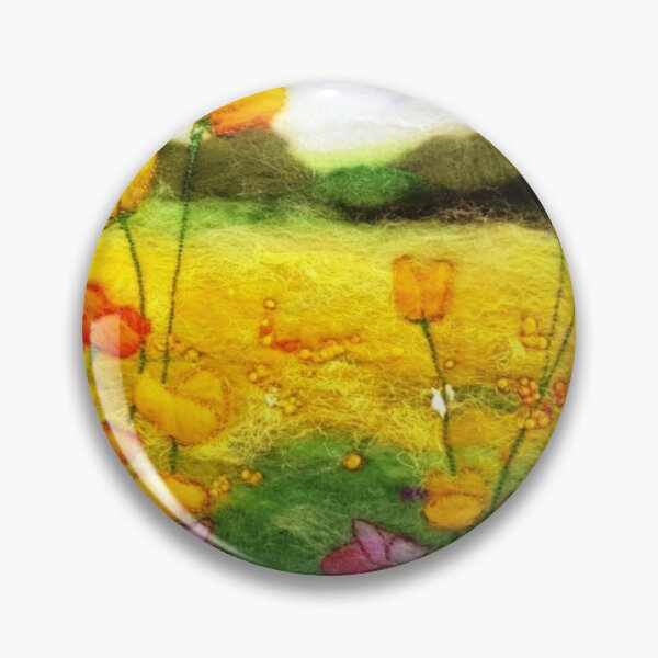 Buttercup Meadow Pin