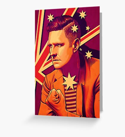 Wil Anderson - Political Wil (textless) Greeting Card