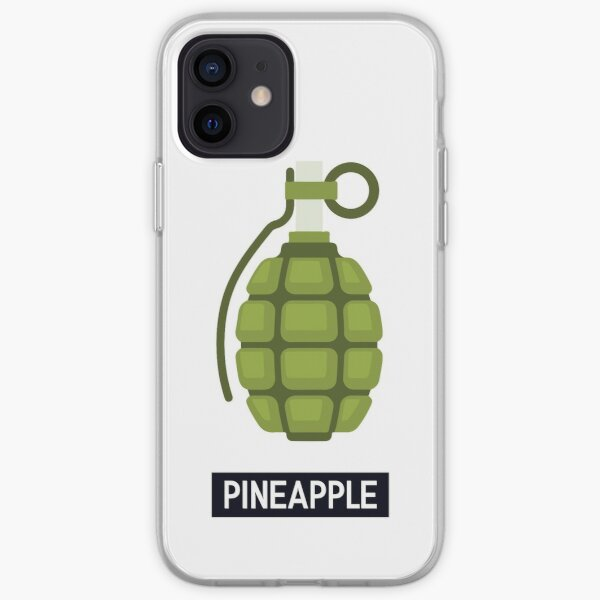 WTF Pineapple iPhone Soft Case