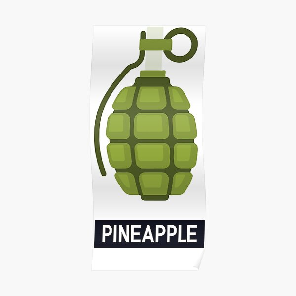 WTF Pineapple Poster