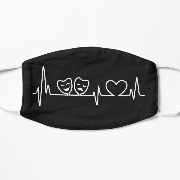 Theatre In Heartbeat Flat Mask
