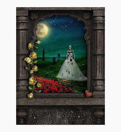 """Dia De Los Muertos """"The Bride"""" Photographic Print"""