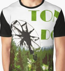 The 100 - Vintage Travel Poster (Ton DC) Graphic T-Shirt