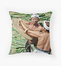 Mekare-kare Throw Pillow