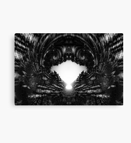 ... and bury me in solitude. Canvas Print