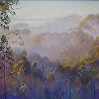 Across the Valley Towards Yea by Lynda Robinson