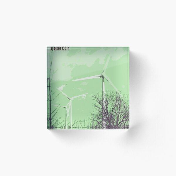 Windmils of Burton by whacky Acrylic Block