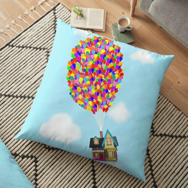Up Balloons  Floor Pillow