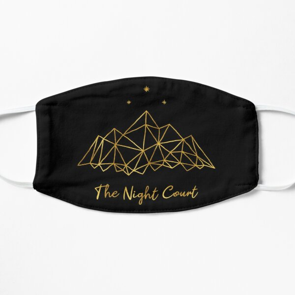 The night court - gold on black Mask