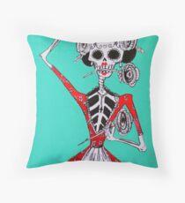 Día de los Muertos Dance Throw Pillow