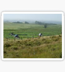 Ranch Landscape Sticker