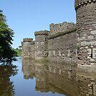 Beaumaris Castle by Brian Beckett