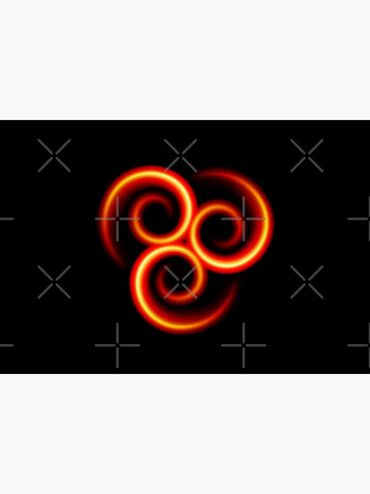 Flammende Triskele Triskelion - brainbubbles von brainbubbles