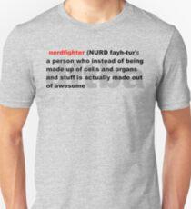 NURD-fayh-tur Unisex T-Shirt