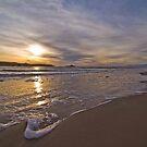 Ocean Beach Sunset, West Coast Tasmania by Ben Rae