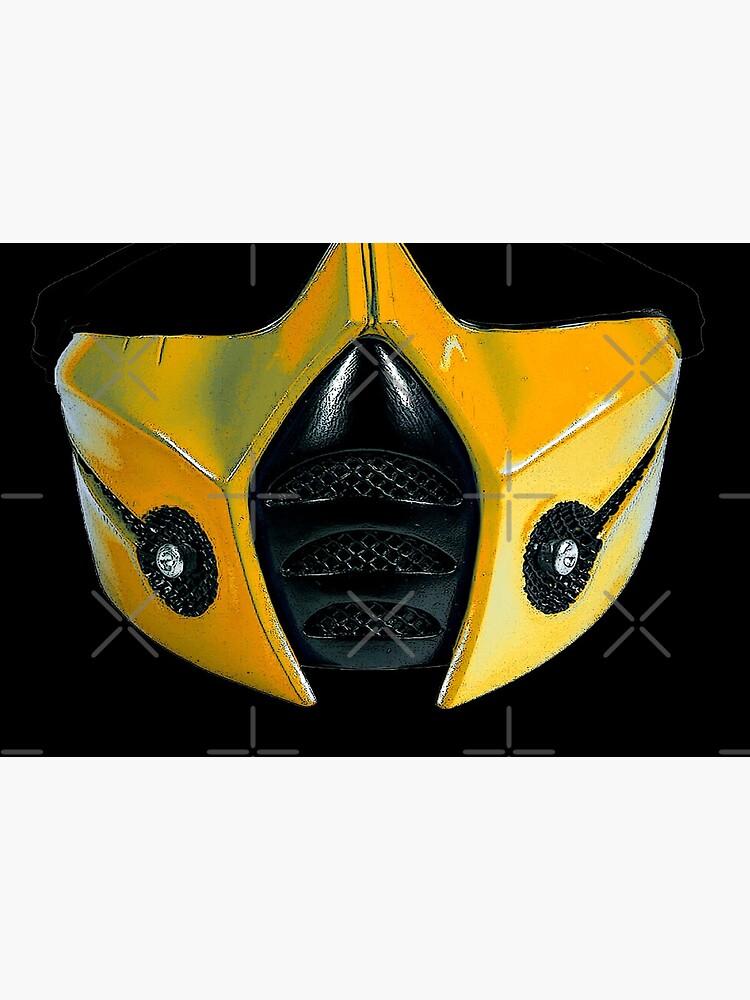 scorpio mask warrior by guillermofarze