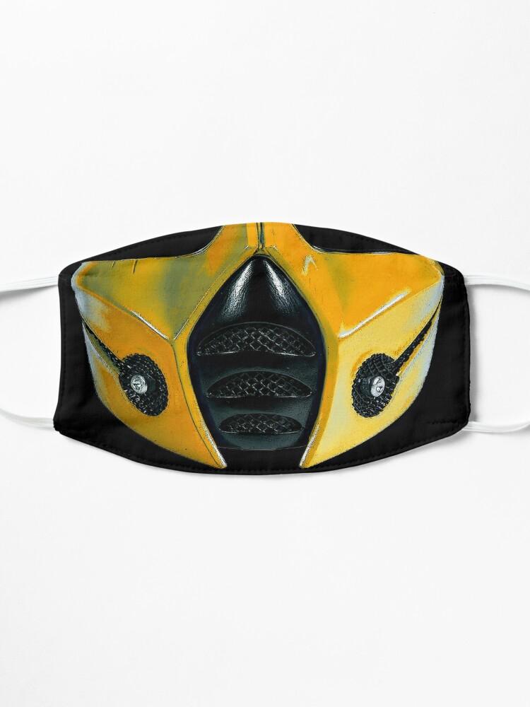 Alternate view of scorpio mask warrior Mask