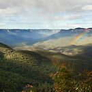 Jamison Valley - Blue Mountains by Dilshara Hill