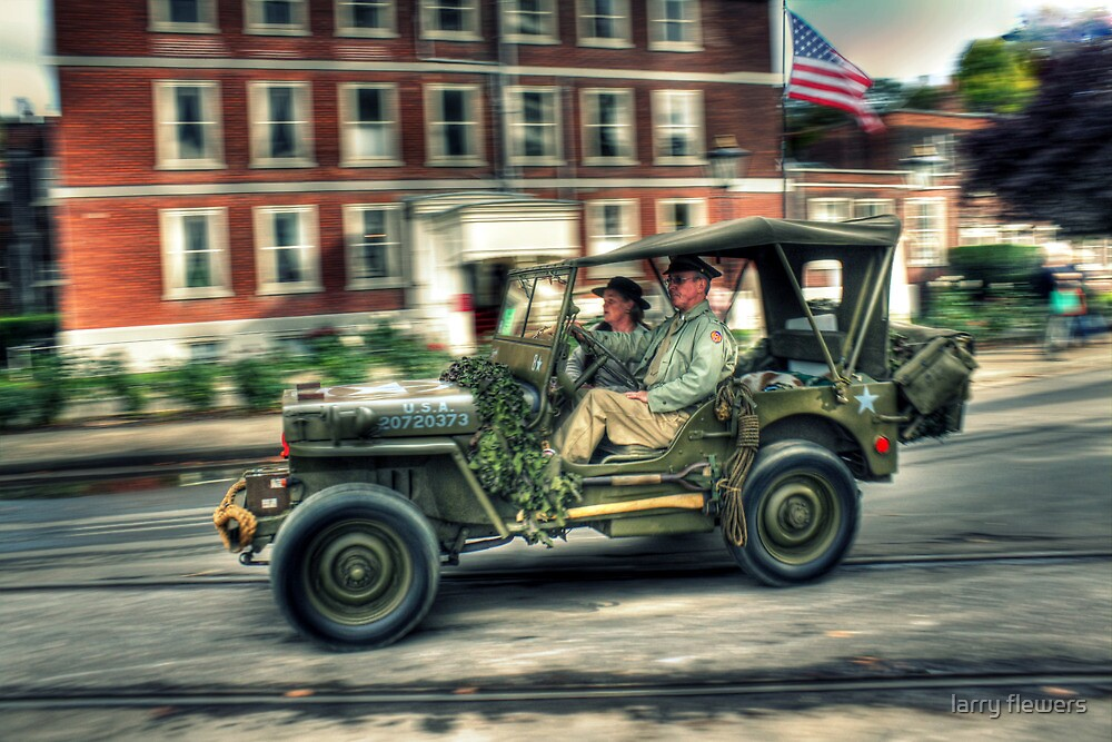 Willys MB by larry flewers