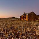 Booleroo Ruin in Twilight by pablosvista2