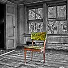 Something is Missing - Selective Color by Debra Fedchin