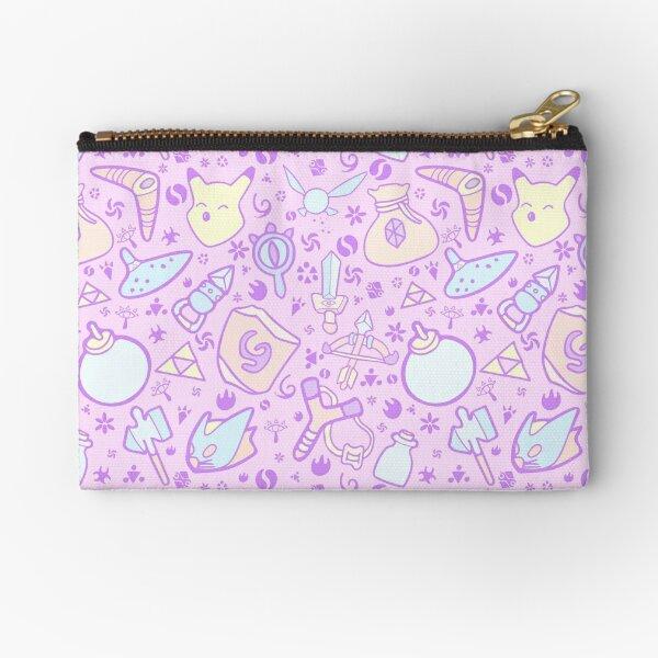 Zelda Doodlez (Pink Pastel ver.) Zipper Pouch