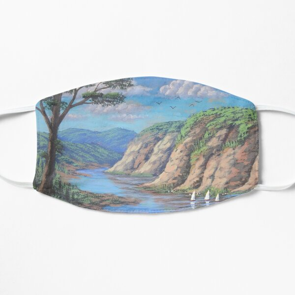 The lake and the serenity Mask