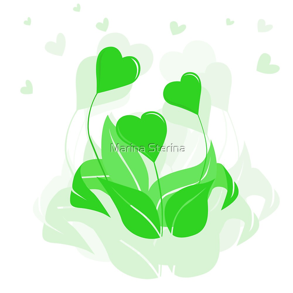 ecology emblem by Marina Sterina