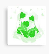 ecology emblem Canvas Print