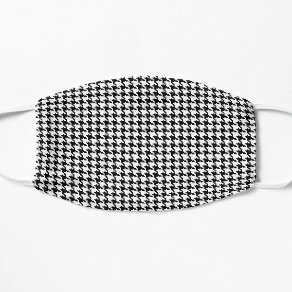 Pied de Poule B&W Flat Mask