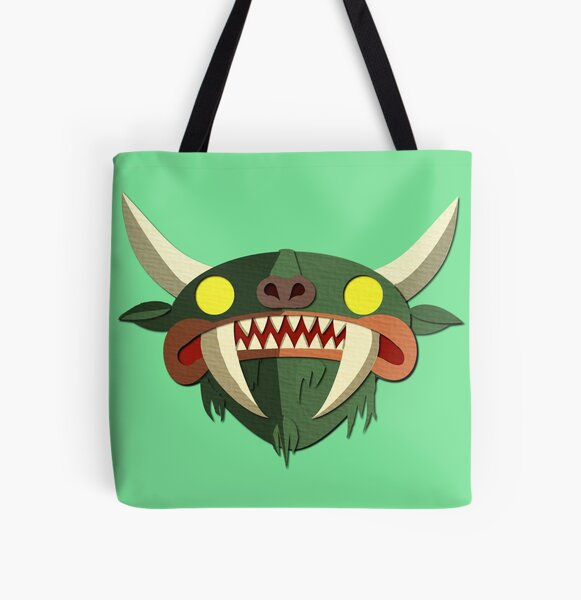 Hodag All Over Print Tote Bag