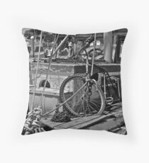 Could Use A Bit Of Work Throw Pillow