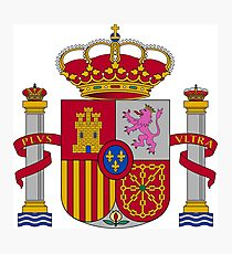 Coat of Arms of Spain (1981-) Photographic Print