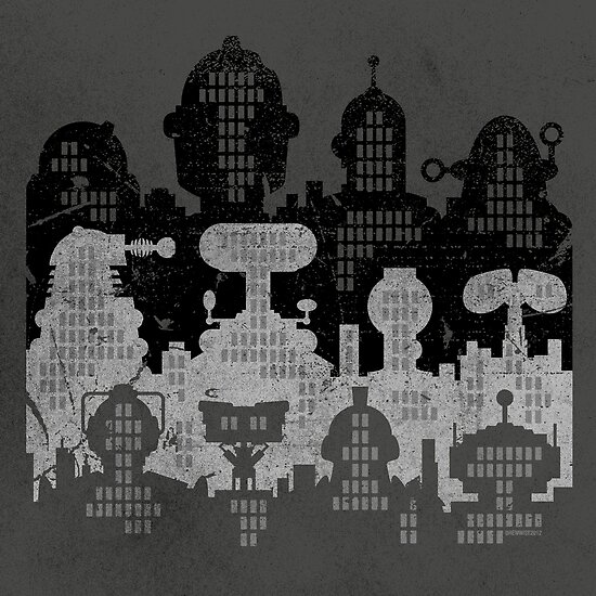 ROBOT CITY! by DREWWISE